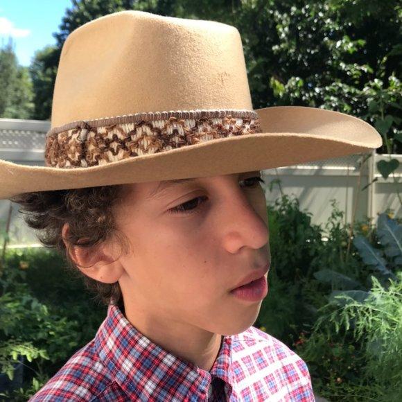 Vintage Lanning Colt 45 cowboy hat